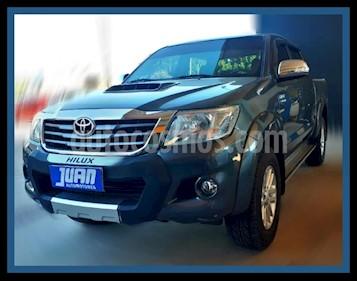Toyota Hilux 3.0 4x2 SRV TDi DC usado (2015) color Gris Oscuro precio $1.590.000