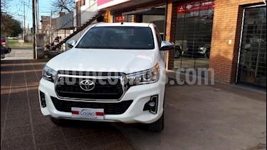 Toyota Hilux 2.8 4x2 SRX TDi DC Aut usado (2018) color Blanco precio $1.111.111