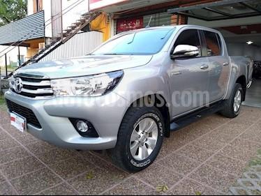 Toyota Hilux 2.8 4x4 SRV TDi DC usado (2016) color Gris Claro precio $11.111.111