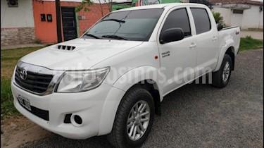 Toyota Hilux 3.0 4x4 SR TDi DC usado (2014) color Blanco precio $1.290.000