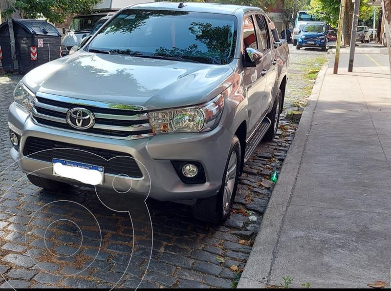 Toyota Hilux 2.8 4x2 SRV TDi DC usado (2017) color Plata Metalico precio $2.780.000