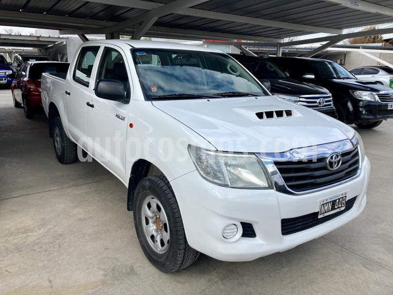 Toyota Hilux 2.5 4x2 DX Pack DC usado (2014) color Blanco precio $1.465.000