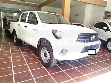 Toyota Hilux 2.4 4x4 DX TDi DC  usado (2018) color Blanco precio $1.700.000