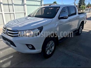 Toyota Hilux 2.8 4x2 SRV Pack TDi DC usado (2016) color Blanco precio $1.600.000