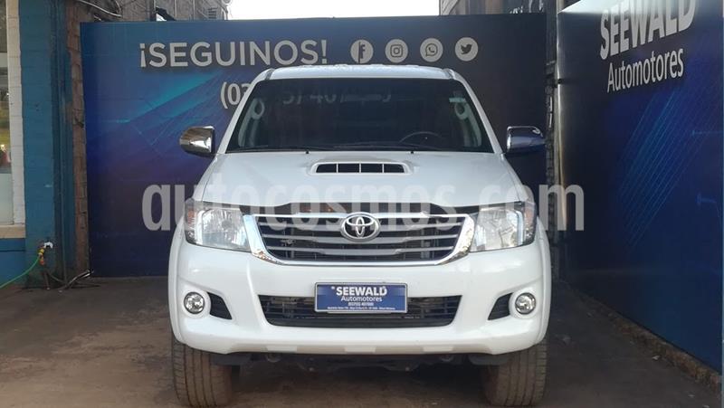 Toyota Hilux 3.0 TDI C/D 4x2 SRV Cuero (171cv) (L12) usado (2015) color Blanco precio $2.130.000