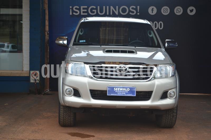 Toyota Hilux 3.0 TDI C/D 4x2 SRV Cuero (171cv) (L12) usado (2013) color Beige precio $2.450.000