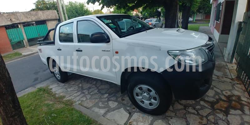 Toyota Hilux 2.5 4x4 DX TDi Pack DC usado (2013) color Blanco precio u$s11.900