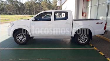 Toyota Hilux 3.0 4x4 SRV TDi DC Cuero usado (2015) color Blanco precio $1.750.000
