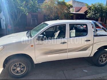 Toyota Hilux 2.5 4x2 DX Pack DC usado (2013) color Blanco precio $1.280.000