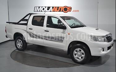 Toyota Hilux 2.5 4x4 DX Pack DC usado (2014) color Blanco precio $1.420.000