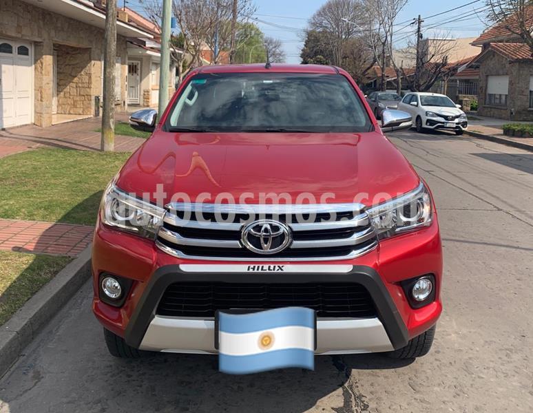 Toyota Hilux 2.8 4x4 SRX TDi DC Aut usado (2016) color Rojo precio u$s26.000