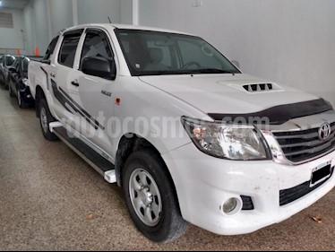 Toyota Hilux 2.5 4x4 DX DC usado (2015) color Blanco precio $1.280.000