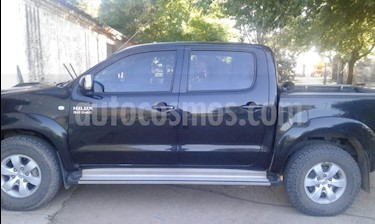 Toyota Hilux 3.0 4x2 SRV TDi DC usado (2011) color Negro precio $890.000