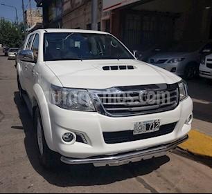 Toyota Hilux 3.0 4x4 Limited TDi DC Cuero Aut  usado (2014) color Blanco precio $1.200.000