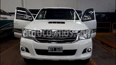 Toyota Hilux - usado (2014) color Blanco precio $1.490.000