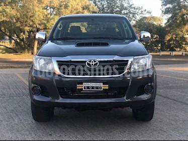 Toyota Hilux 3.0 4x4 SR TDi DC usado (2015) color Gris Oscuro precio $1.890.000