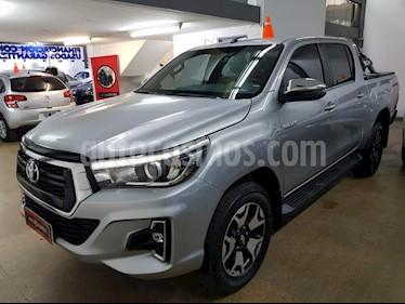 Toyota Hilux 2.8 4x2 SRX TDi DC Aut usado (2018) color Gris Oscuro precio $2.230.000
