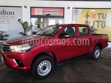 Foto venta Auto usado Toyota Hilux Cabina Doble Base (2017) color Rojo precio $309,000