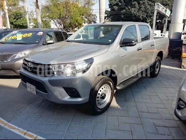 Foto venta Auto usado Toyota Hilux Cabina Doble Base (2018) color Plata precio $319,000