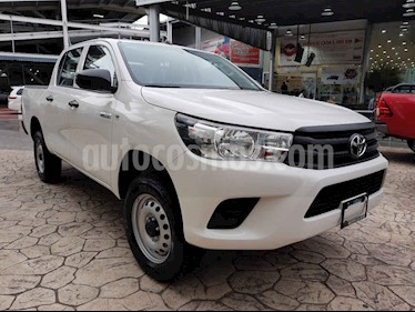 Foto venta Auto usado Toyota Hilux Cabina Doble Diesel 4X4 (2019) color Blanco precio $445,000
