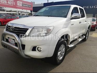 Foto venta Auto usado Toyota Hilux Cabina Doble SR (2015) color Blanco precio $229,000