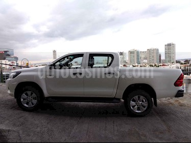 Foto venta Auto usado Toyota Hilux Cabina Doble SR (2018) color Blanco precio $360,000