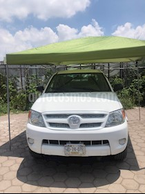 Foto venta Auto usado Toyota Hilux Cabina Doble (2007) color Blanco precio $120,000
