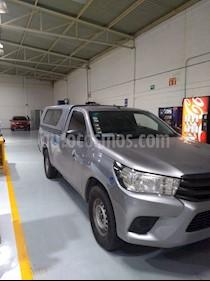 Foto venta Auto usado Toyota Hilux Cabina Sencilla Ac (2016) color Plata precio $210,000