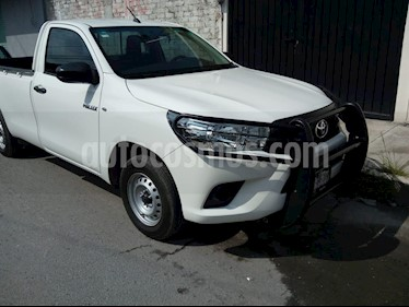 Foto venta Auto usado Toyota Hilux Cabina Sencilla Ac (2017) color Blanco precio $235,000