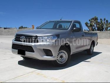 Foto venta Auto usado Toyota Hilux Cabina Sencilla (2018) color Plata precio $268,000