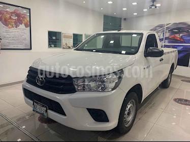 foto Toyota Hilux Cabina Sencilla usado (2018) color Blanco precio $279,000