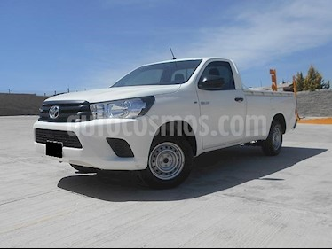 Foto venta Auto usado Toyota Hilux Cabina Sencilla (2018) color Blanco precio $275,000