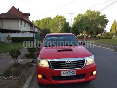 Toyota Hilux 2.5 4X4 Cabina Doble SR usado (2015) color Rojo precio $9.800.000
