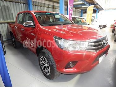 Toyota Hilux Cabina Doble usado (2016) color Rojo precio $11.390.000