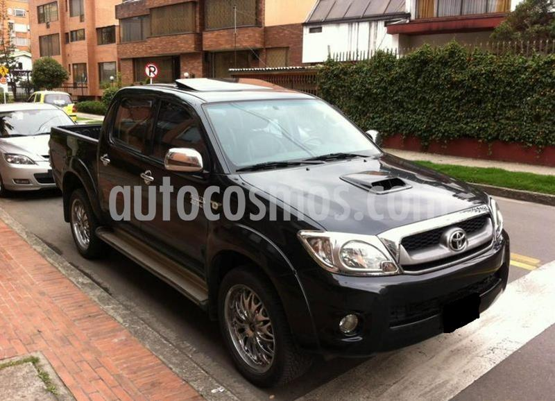 Toyota Hilux 3.0L 4x4 DC Diesel Aut usado (2011) color Negro precio $40.000.000