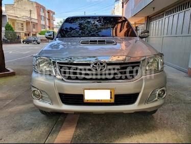 Toyota Hilux 3.0L 4x4 SRV DC Diesel  usado (2014) color Plata precio $55.000.000