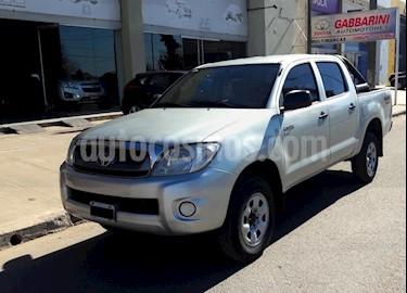 Foto venta Auto usado Toyota Hilux DLX 2.8 D/C  4x4 A/A - D/H (2010) color Gris Claro precio $490.000