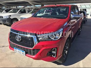 Foto venta Auto usado Toyota Hilux DLX 2.8 D/C  4x4 A/A - D/H (2019) color Rojo precio $1.500.000