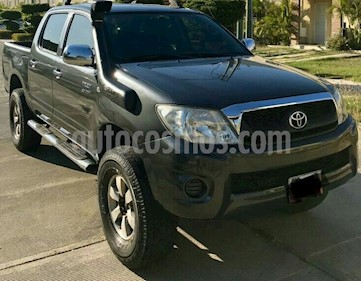 Foto venta carro Usado Toyota Hilux Doble Cabina 2.7L 4x4 (2010) color Gris precio u$s10.500