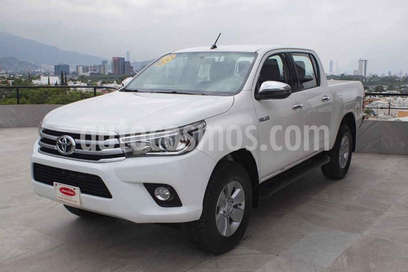 Toyota Hilux Cabina Doble Diesel 4X4 Aut usado (2018) color Blanco precio $435,000