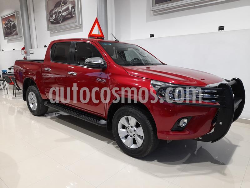 Toyota Hilux Cabina Doble Diesel 4X4 Aut usado (2018) color Rojo precio $499,900