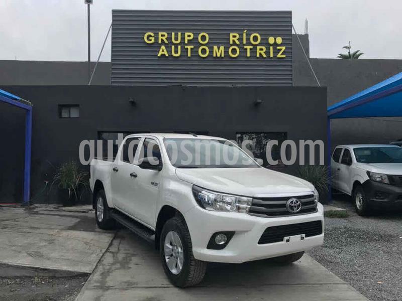 Toyota Hilux Cabina Doble SR usado (2019) color Blanco precio $358,000