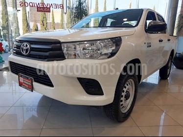 Toyota Hilux Cabina Doble usado (2020) color Blanco precio $436,000