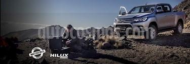 Toyota Hilux Cabina Doble Diesel 4X4 Aut nuevo color Blanco precio $634,800