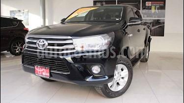 Toyota Hilux 4p Doble Cabina SR L4/2.7 Man usado (2019) color Negro precio $380,000