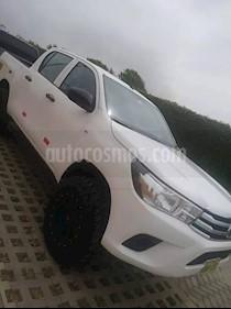 Toyota Hilux 4x2 C-D Xl Diesel usado (2017) color Blanco precio $6,200