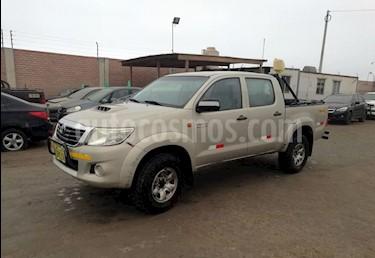 Toyota Hilux 3.0L TD 4x4 CD SRV usado (2012) color Bronce precio u$s8,400