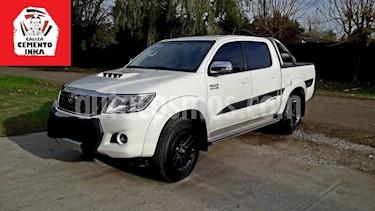 Toyota Hilux 3.0L TD 4x4 C-D SRV Aut usado (2015) color Blanco precio $13,800