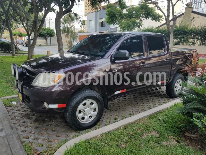 Toyota Hilux 4x4 C-D XL Gas usado (2007) color Rojo precio u$s4,255