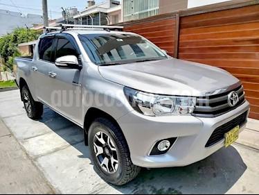 Toyota Hilux 2.8L Tdi 4x4 CD   usado (2016) color Plata precio $6,400